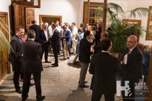 Cóctel de bienvenida de HackHotel 2017 en La Laguna Gran Hotel