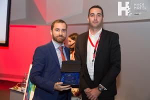 HackHotel 2017. Entrega de reconocimientos de S21sec