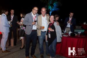 Cóctel de clausura de HackHotel 2017 en el Parque Marítimo de Santa Cruz de Tenerife