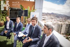Presentación de HackHotel 2017 en el Hotel Silken Atlántida de Santa Cruz